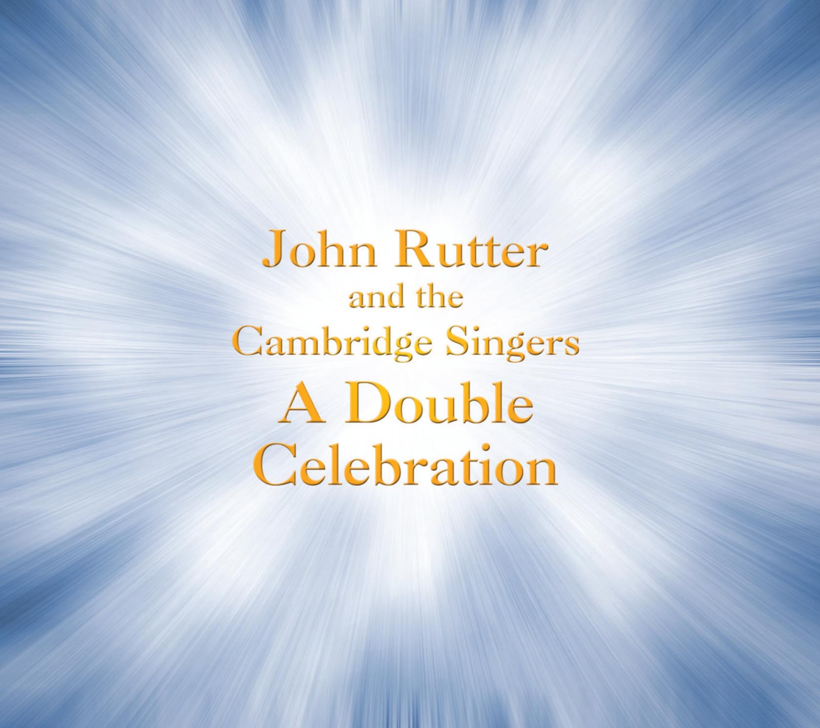 A Double Celebration CD released