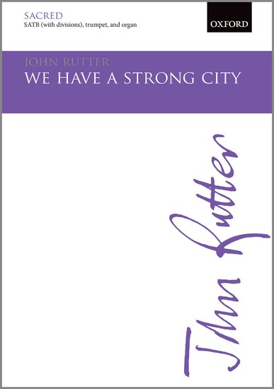 We have a strong city written