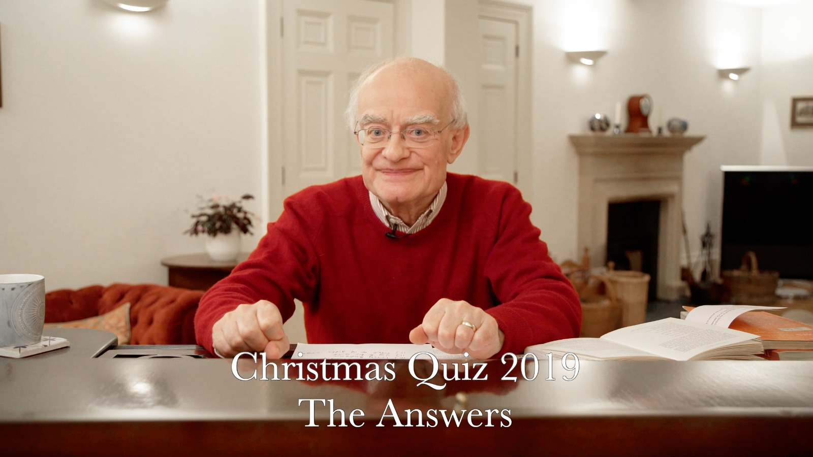 Christmas Quiz 2019: The Answers
