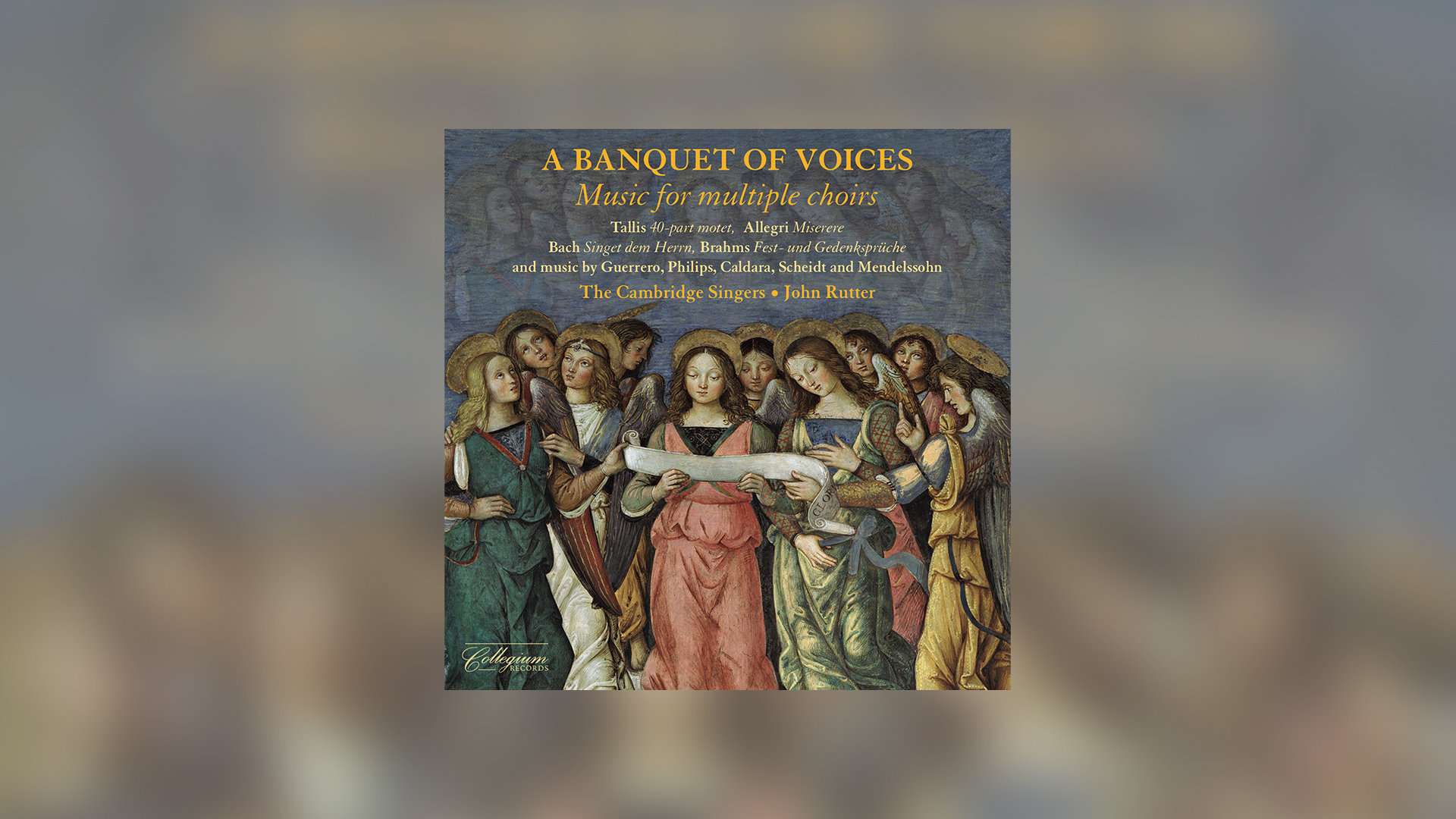 Out Now: 'A Banquet of Voices'
