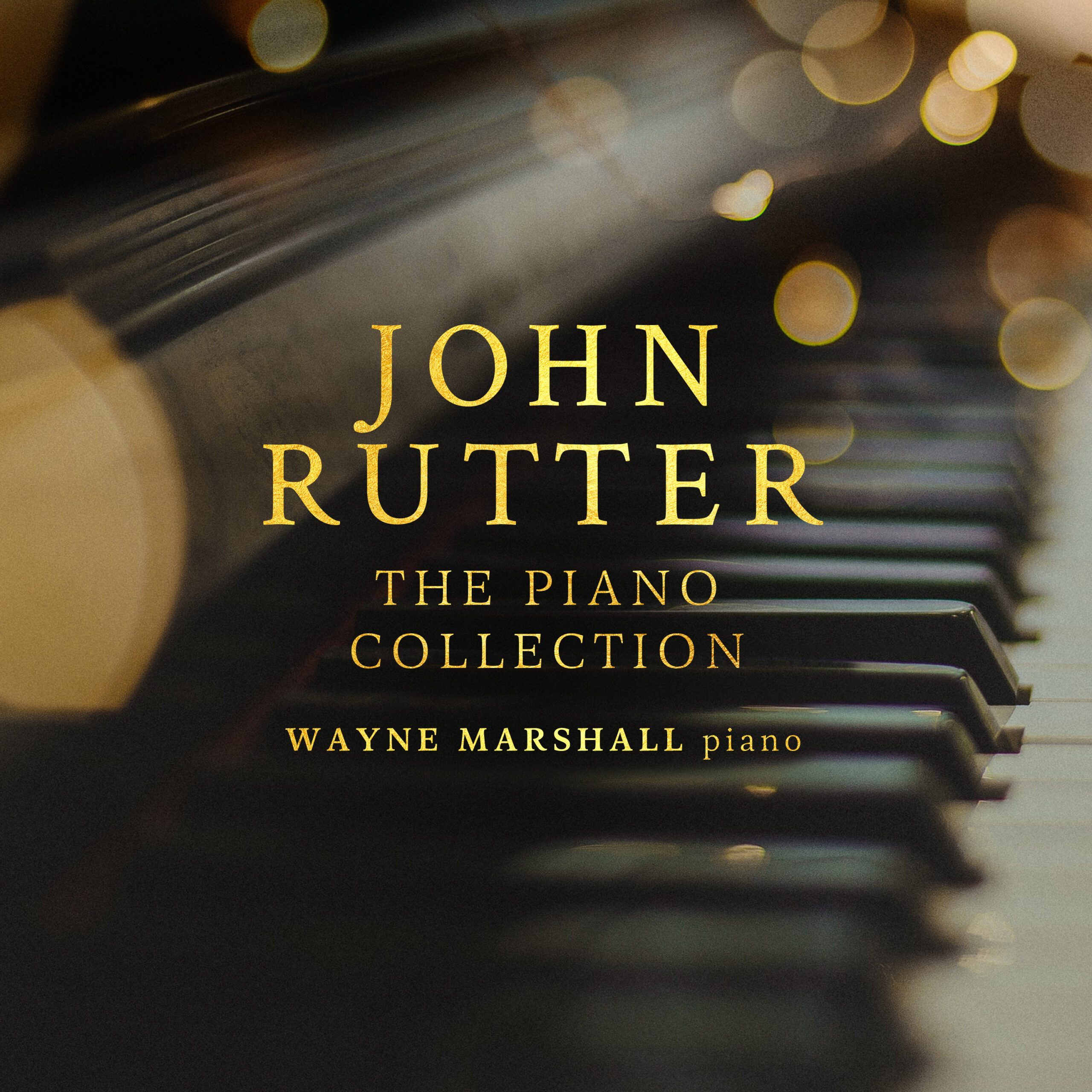 John Rutter The Piano Collection released